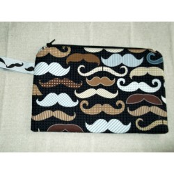 Pochette moustaches