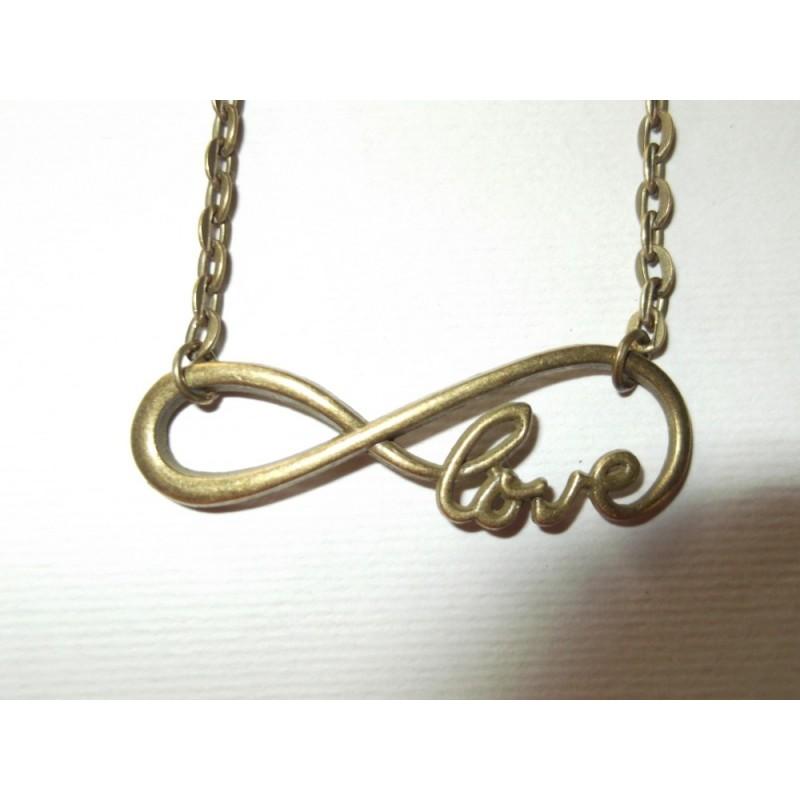 Collier Love infini