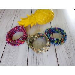 Bracelets 4 tours cordon...