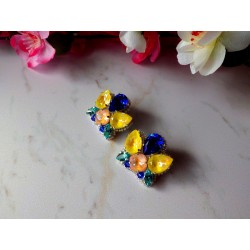 """NENUPHAR"" combinaison de cristaux Swarovski"