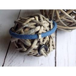 Bracelets de cheville cordon en jean