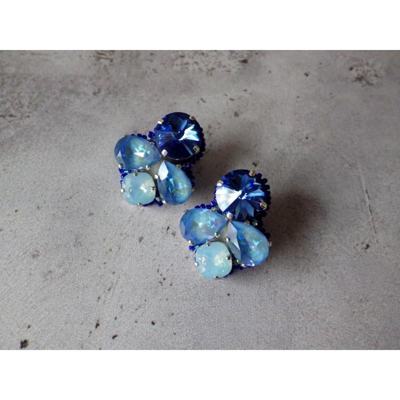 """""""Ciel étoilé"""" combinaison de cristaux Swarovski"""