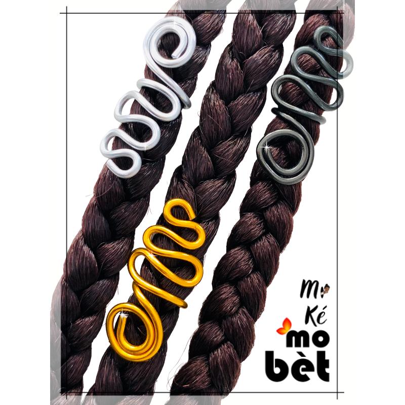 MKMB bague cheveux sans perles fil alu