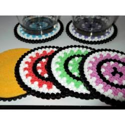 Dessous de verres mosaïque