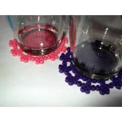 Dessous de verres broderie