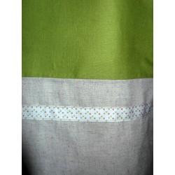 Cabas lin/coton