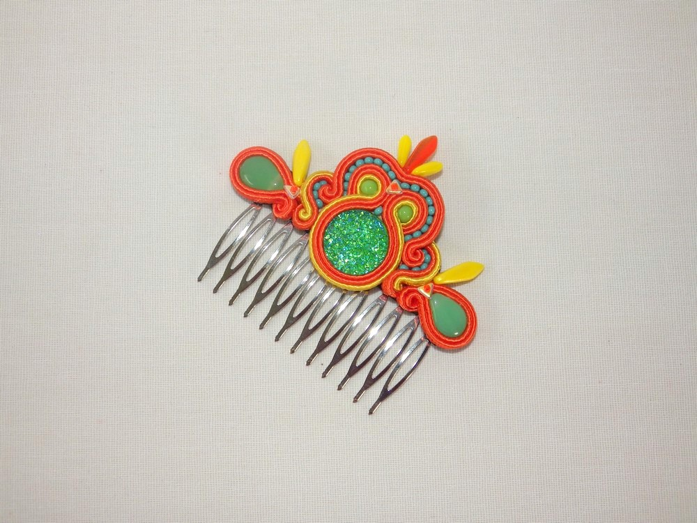 barrette soutache