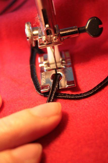 couture machine soutache