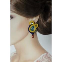 Boucles d'oreilles soutache...
